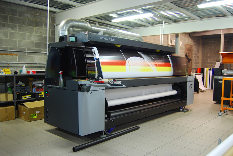 Commercial Vehicle Wraps Printed at Location