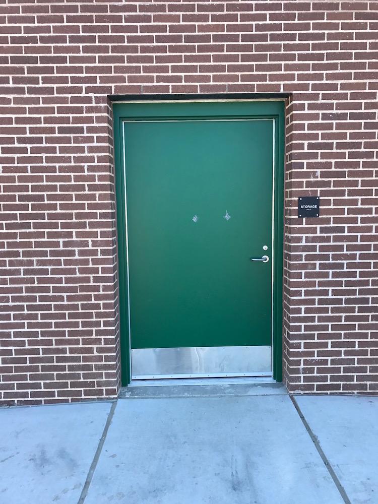 before door wraps Western Hills High School & Door Wraps Western Hills High School in Fort Worth - Armour Wraps