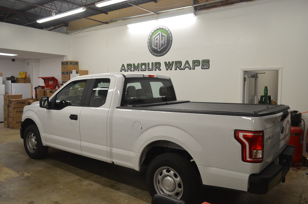 before pest control truck wrap Ameri-Tech