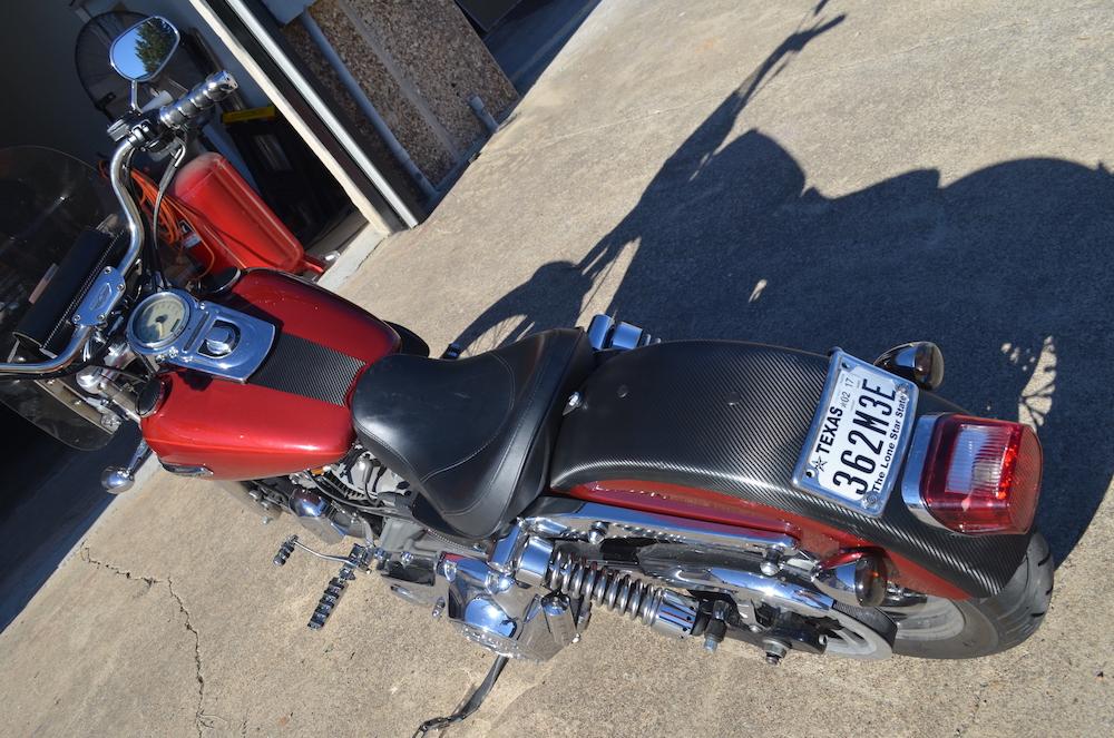 carbon fiber wrap Harley Davidson