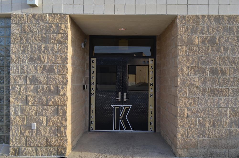 Custom Door Wraps Kaufman Lions