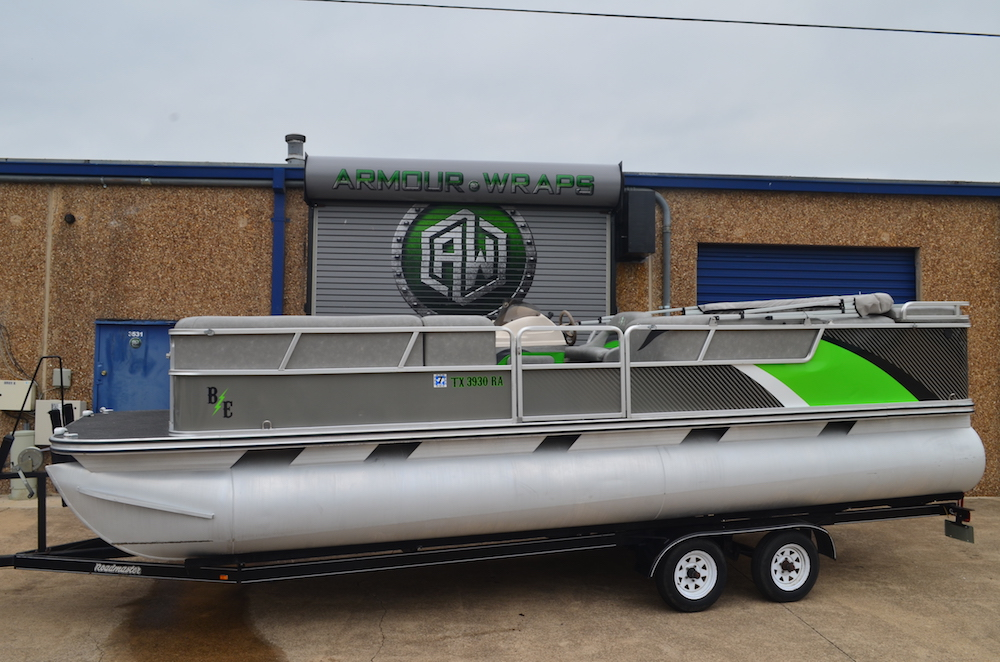 Pontoon Boat Wrap Wrap My Pontoon Boat In Fort Worth
