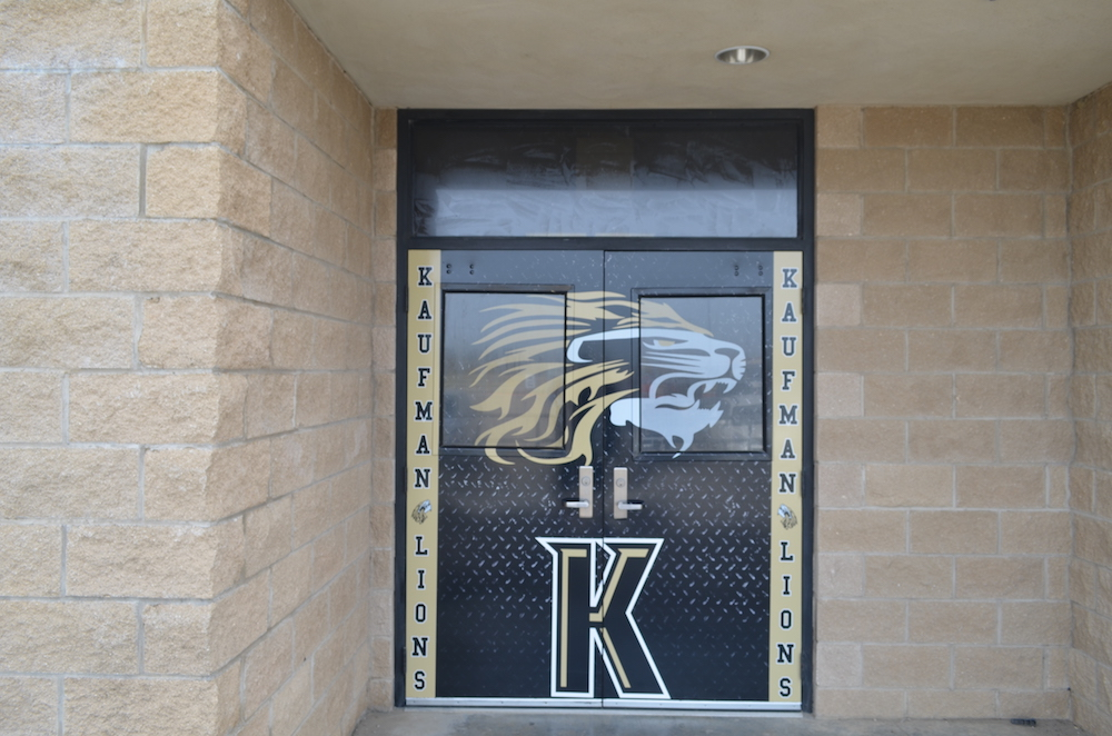 Double Door Wraps Kaufman Lions