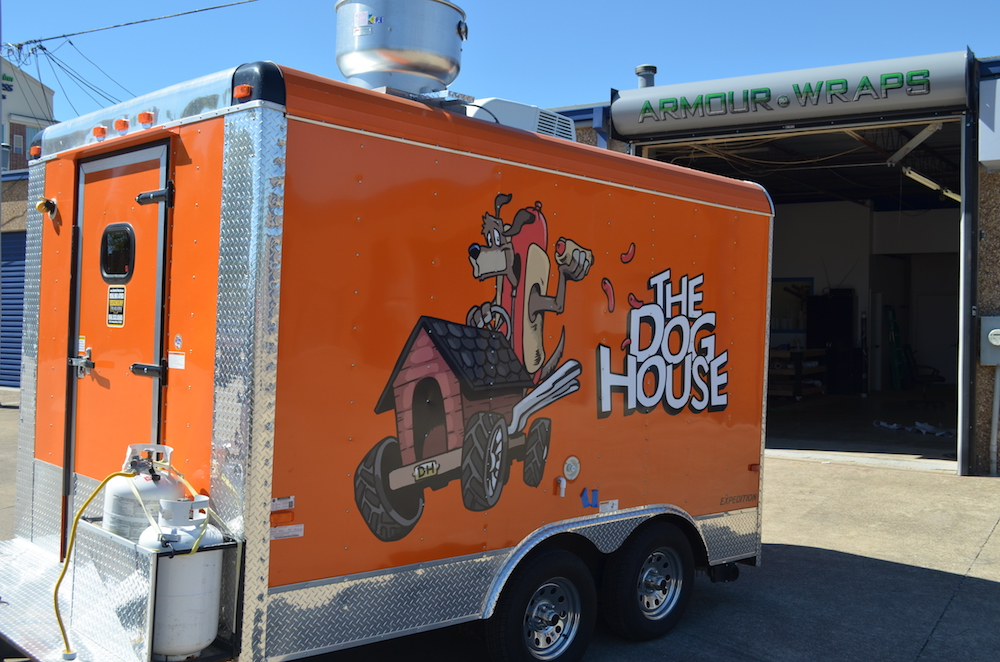 trailer wrap The Dog House