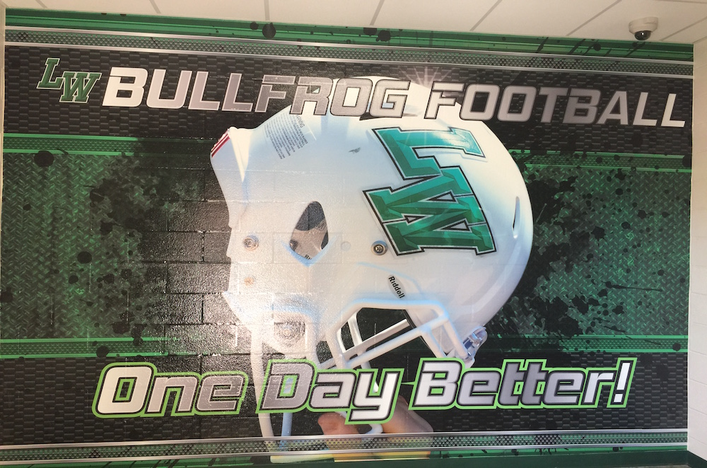 Athletic Facility Graphics Wall Wraps