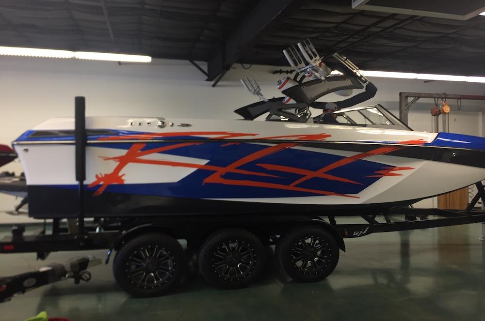 wakeboard boat wrap Tige