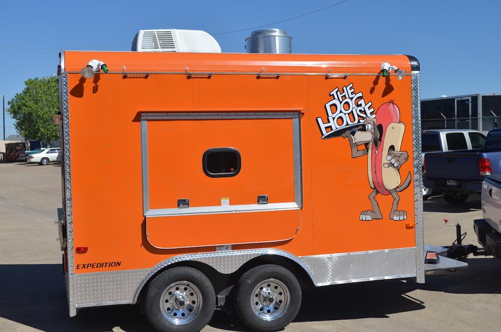 trailer wrap The Dog House