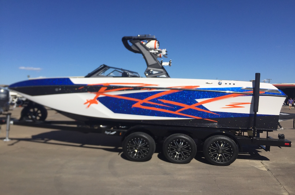 Wakeboard Boat Wrap Tige Boat Wraps In Fort Worth