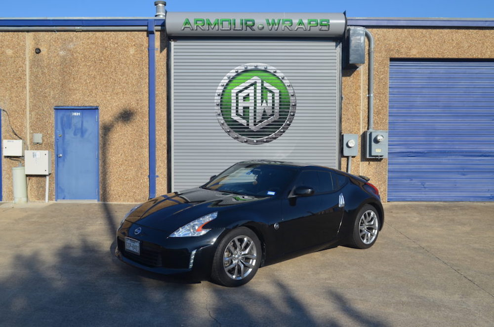 before matte wrap Nissan 350z