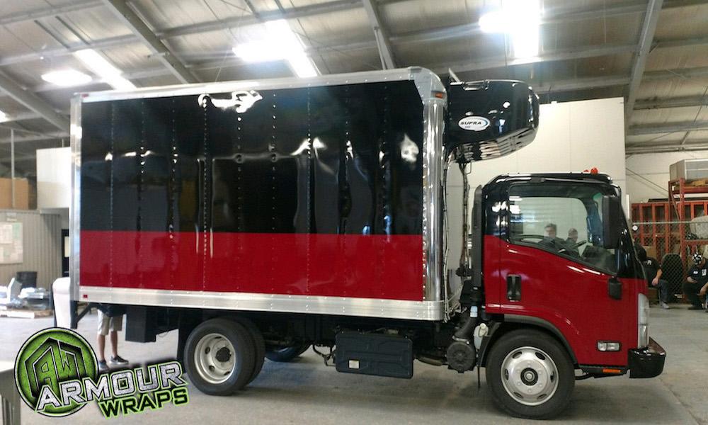 box truck wrap Boars Head Provisions