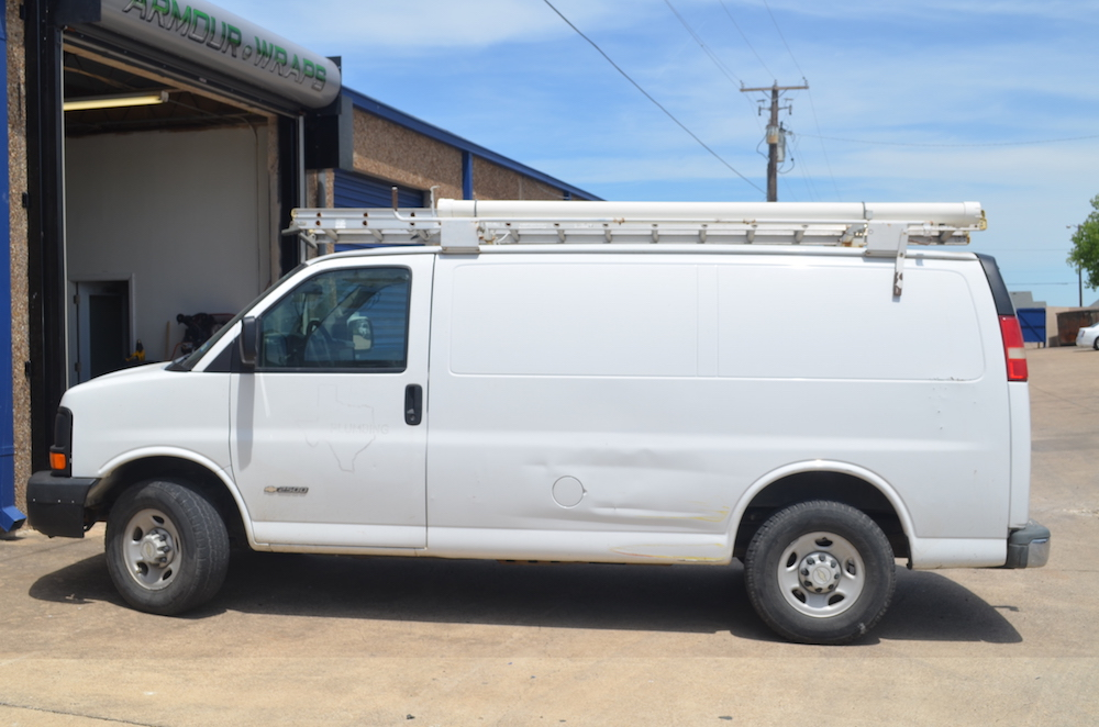 before van wrap Westside Plumbing