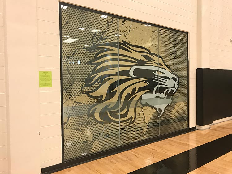 Gym Graphics – Kaufman High School