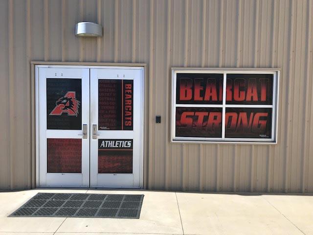 Football Door Graphics