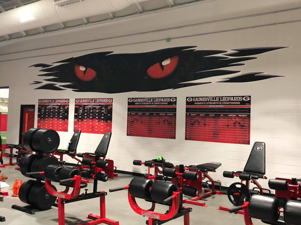 Athletic Facility Graphics